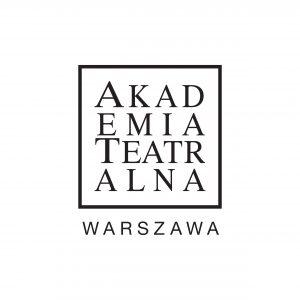 Logo Akademii Teatralnej w Warszawie
